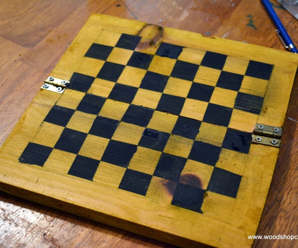 Simple DIY Game Boards for Very Young Woodworkers