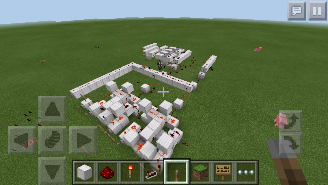 Logic Gates in Minecraft