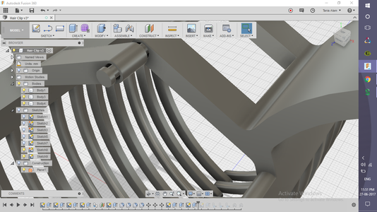 Creating the Small Connecting Rod