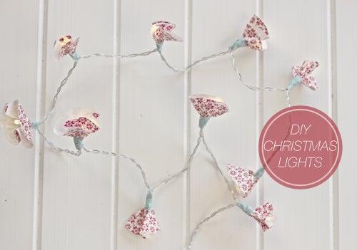 DIY Christmas Fairy Lights