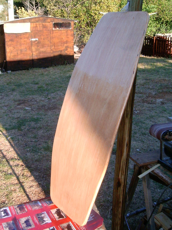 Wake skate construction - Step two.