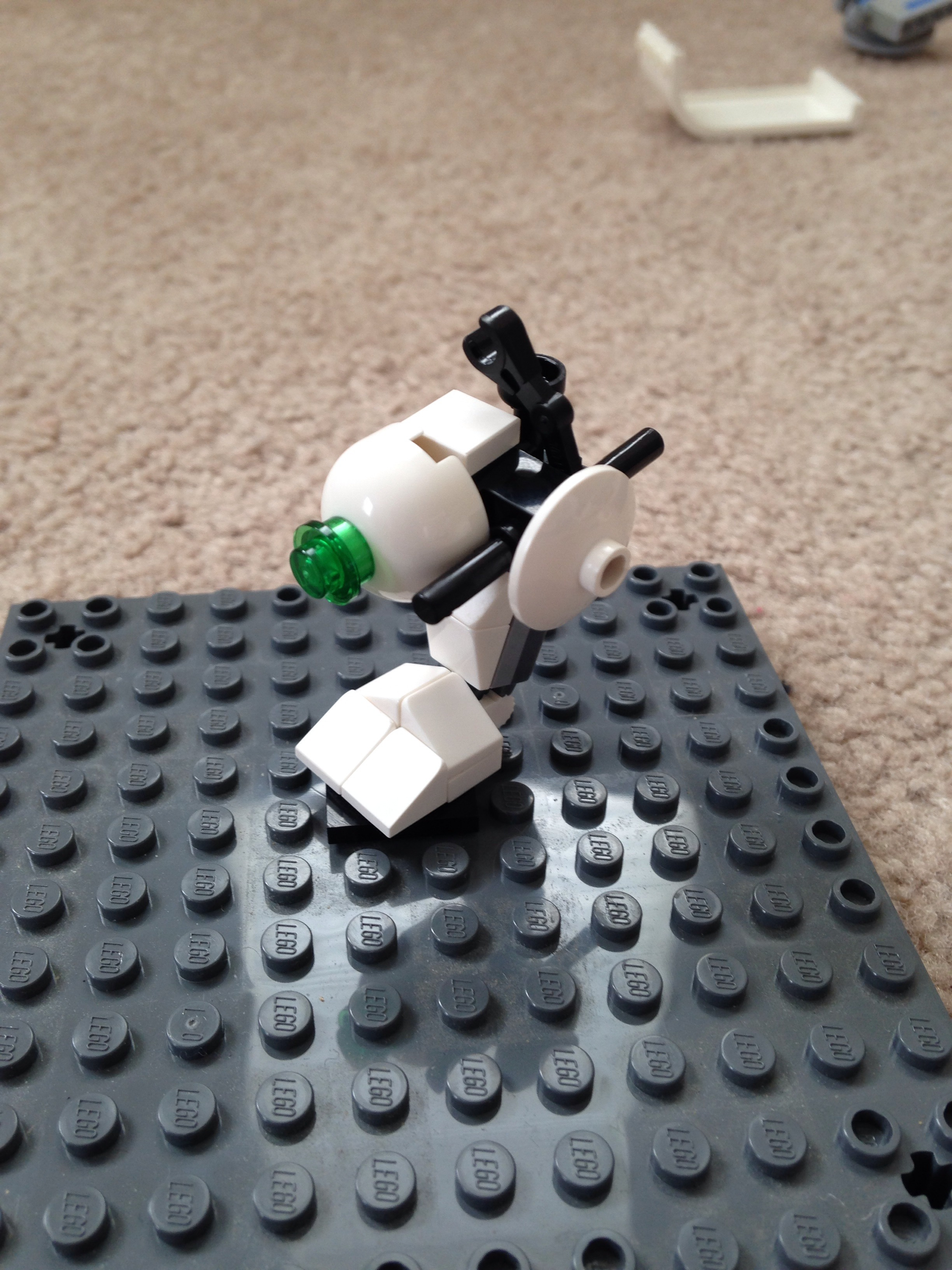 Lego Rocket Turret From Portal 2