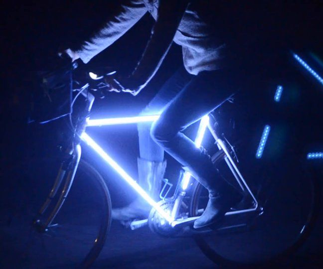 RGB LED Safety (Party) Bike Light ($35)