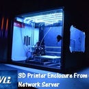 3D Printer Enclosure From Old Network Server