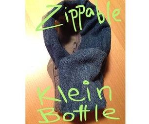 Zippable Klein Bottle