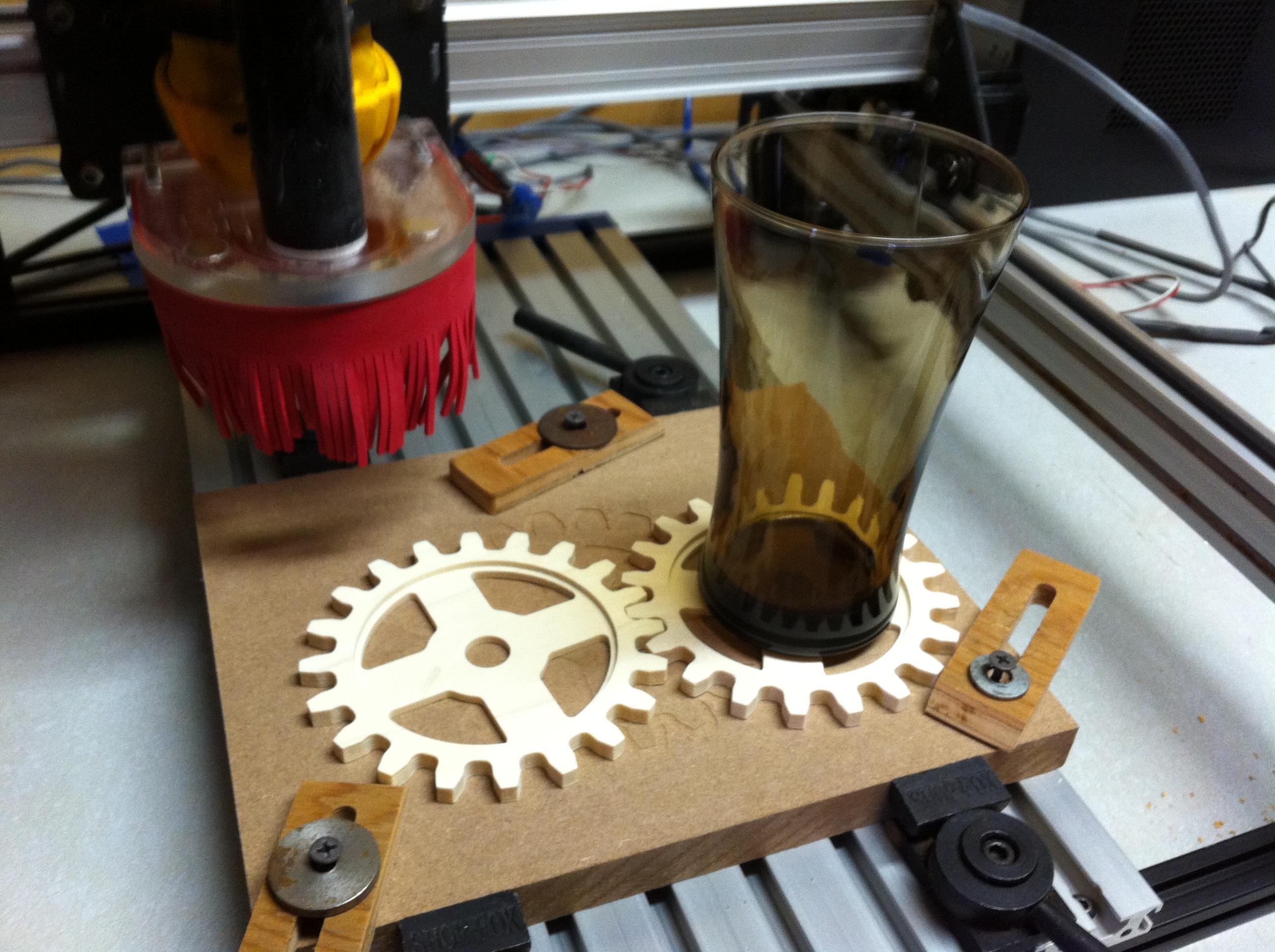 CNC Gear Coaster