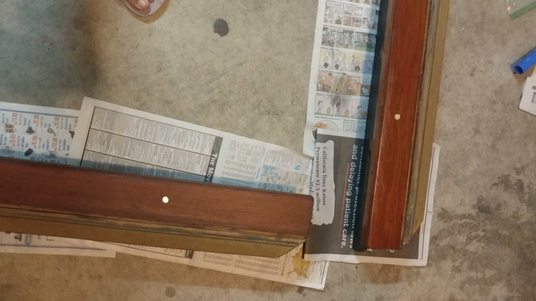 Step 3: Stain the Rails