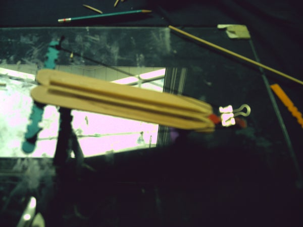 Popsicle Stick Crossbow/Catapult