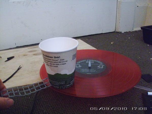 Coffee Cup Phonograph