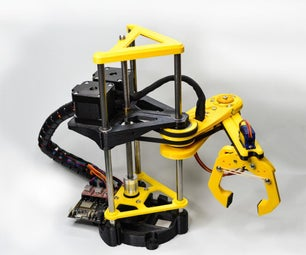 Pybot: Python + 3D Printed Robotic Arm