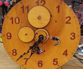 Arduino WiFi Set Clock With Analog Hands