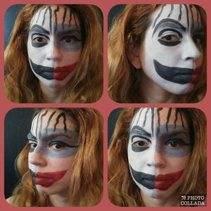 Tribute to Boy George Face Paint (Taboo Edition)