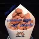 """Slow Cooker Cinnamon Sugar """"Mall"""" Almonds"""