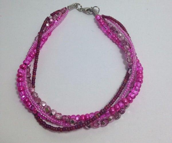 Twisted Bead Bracelet