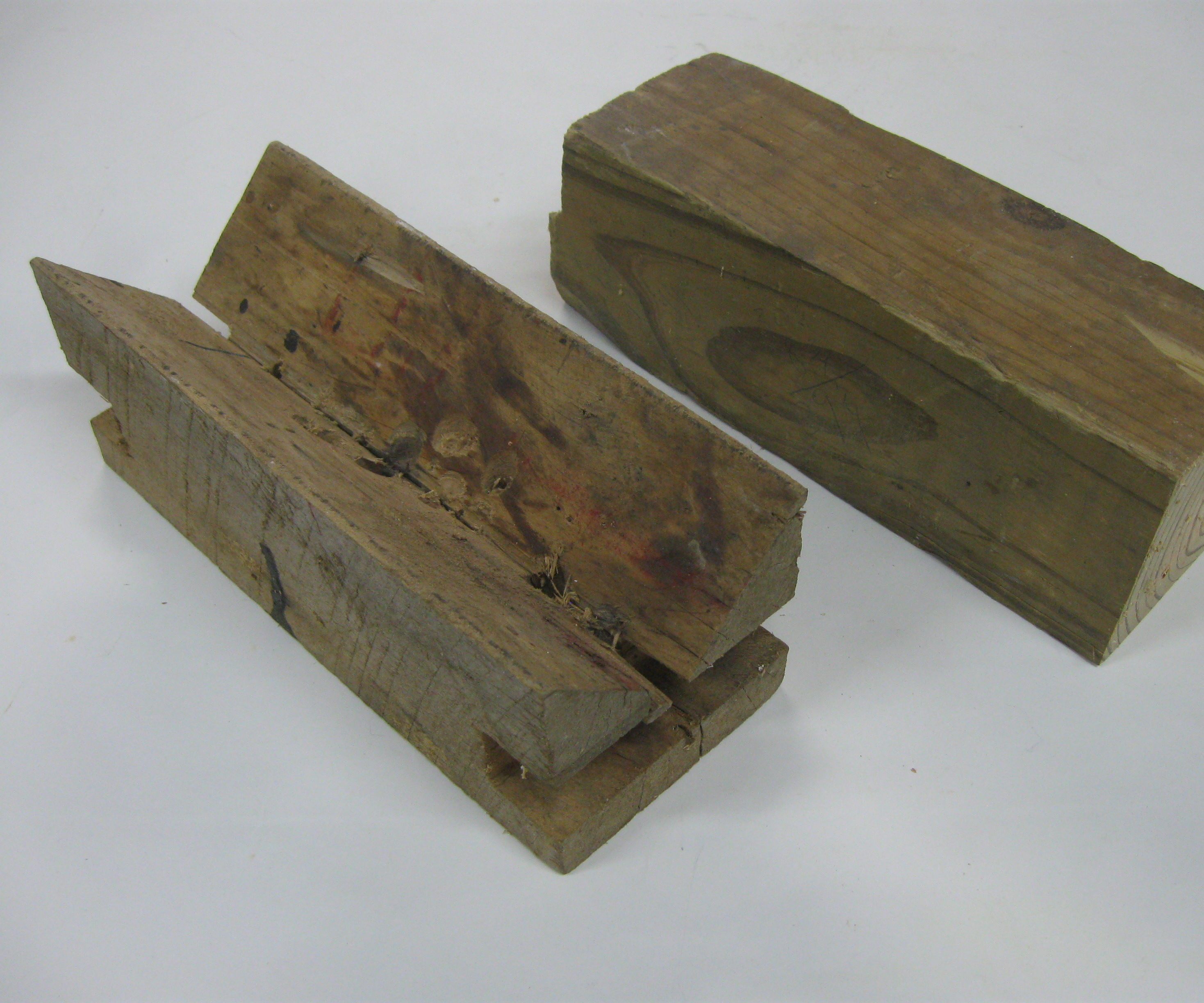 V-Block From 4x4 Wood