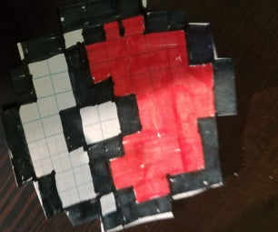 DIY Pixel Art Magnets Made With Paper-Super Easy