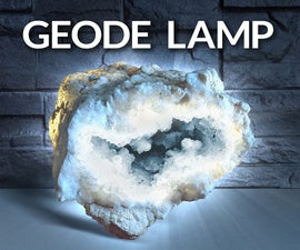Crystal Geode Lamp