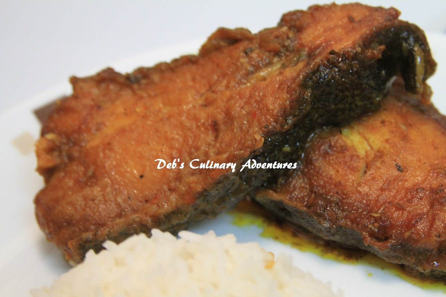 Halibut Kalia (Bengali Style Fish Curry)