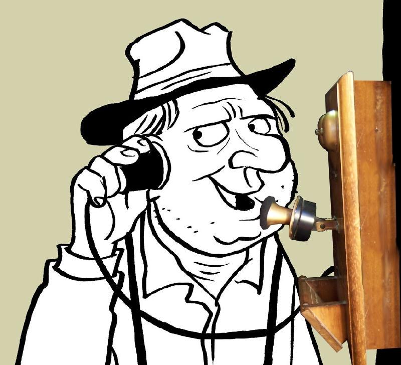 DIY Old Timey Skype Phone