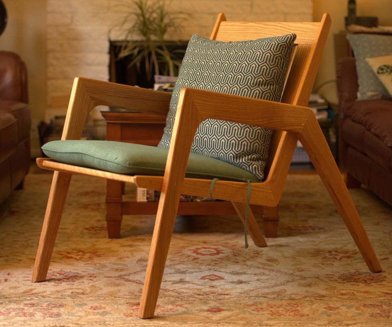 Mid Century Modern Lounge Chair 13 Steps With Pictures Instructables