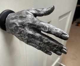 My Metal Hand Doorknob