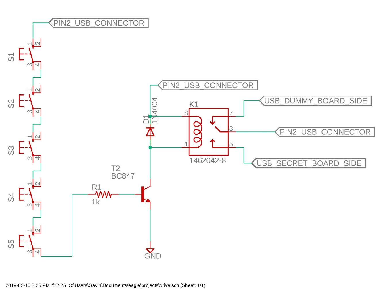 Electrics, Circuit Description and Partial Assembly
