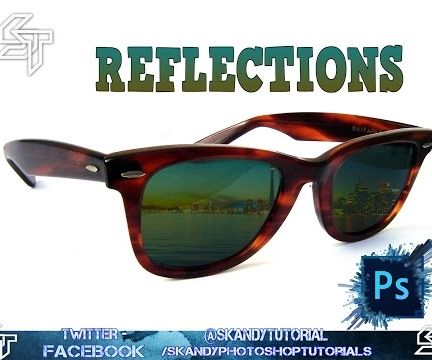 How to Photoshop a Custom Reflection to Sunglasses