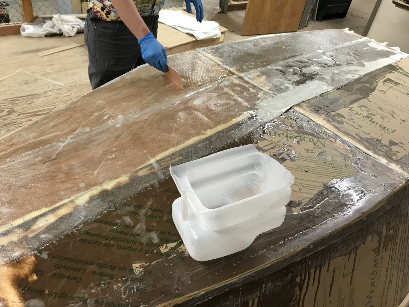 Glass, Glass, Glass! It's Time to Resin the Glass.