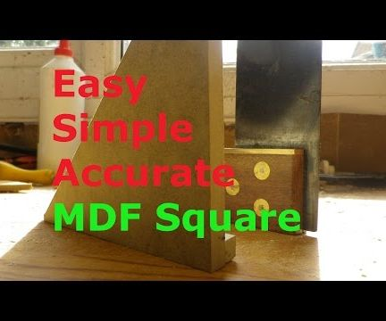 Make an MDF speed square