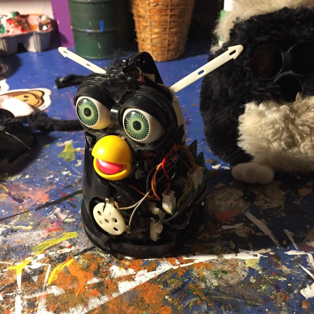Classic Furby: Complete Re-furb-ishment