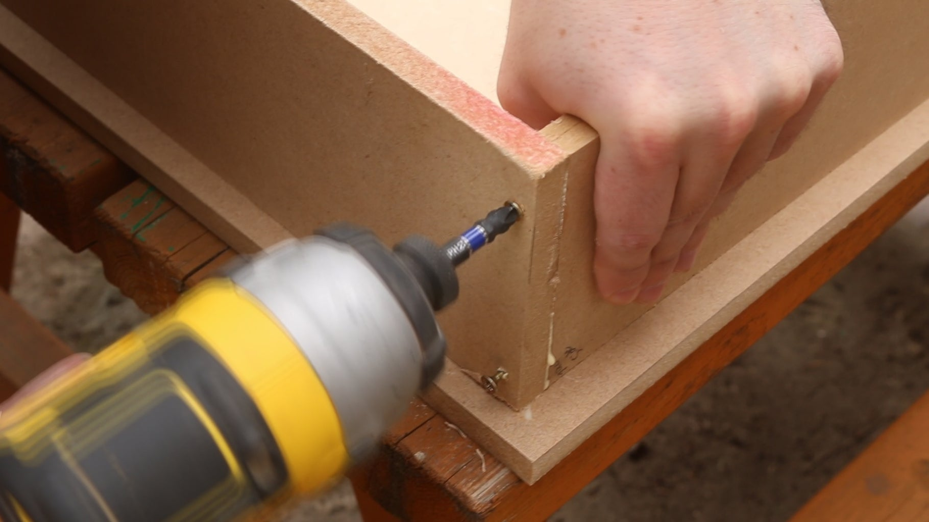 Construct the Drawer Bodies