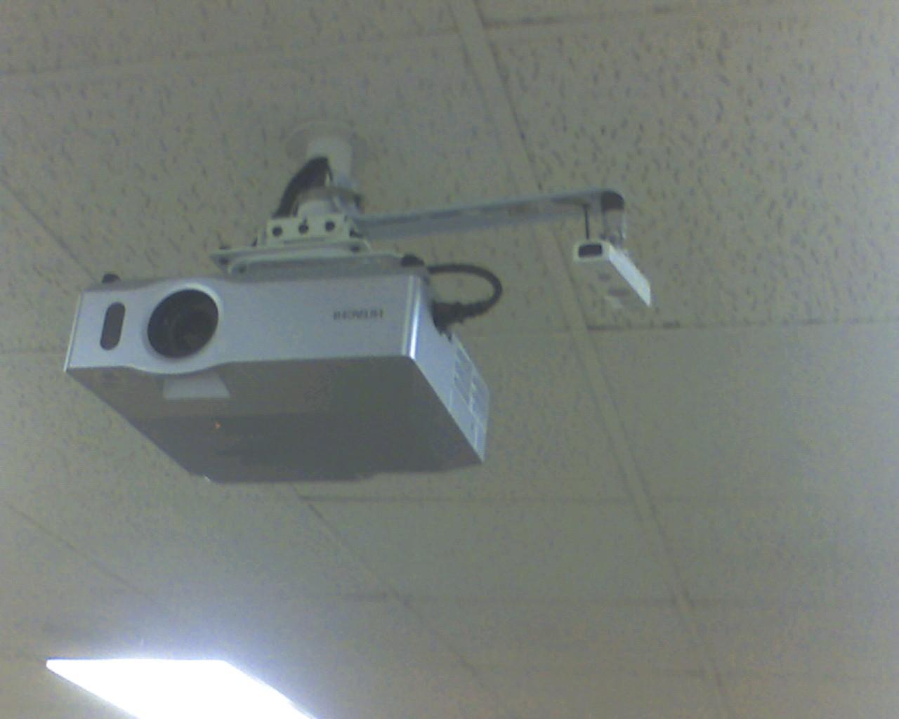 Ceiling Mounted Wiimote Whiteboard