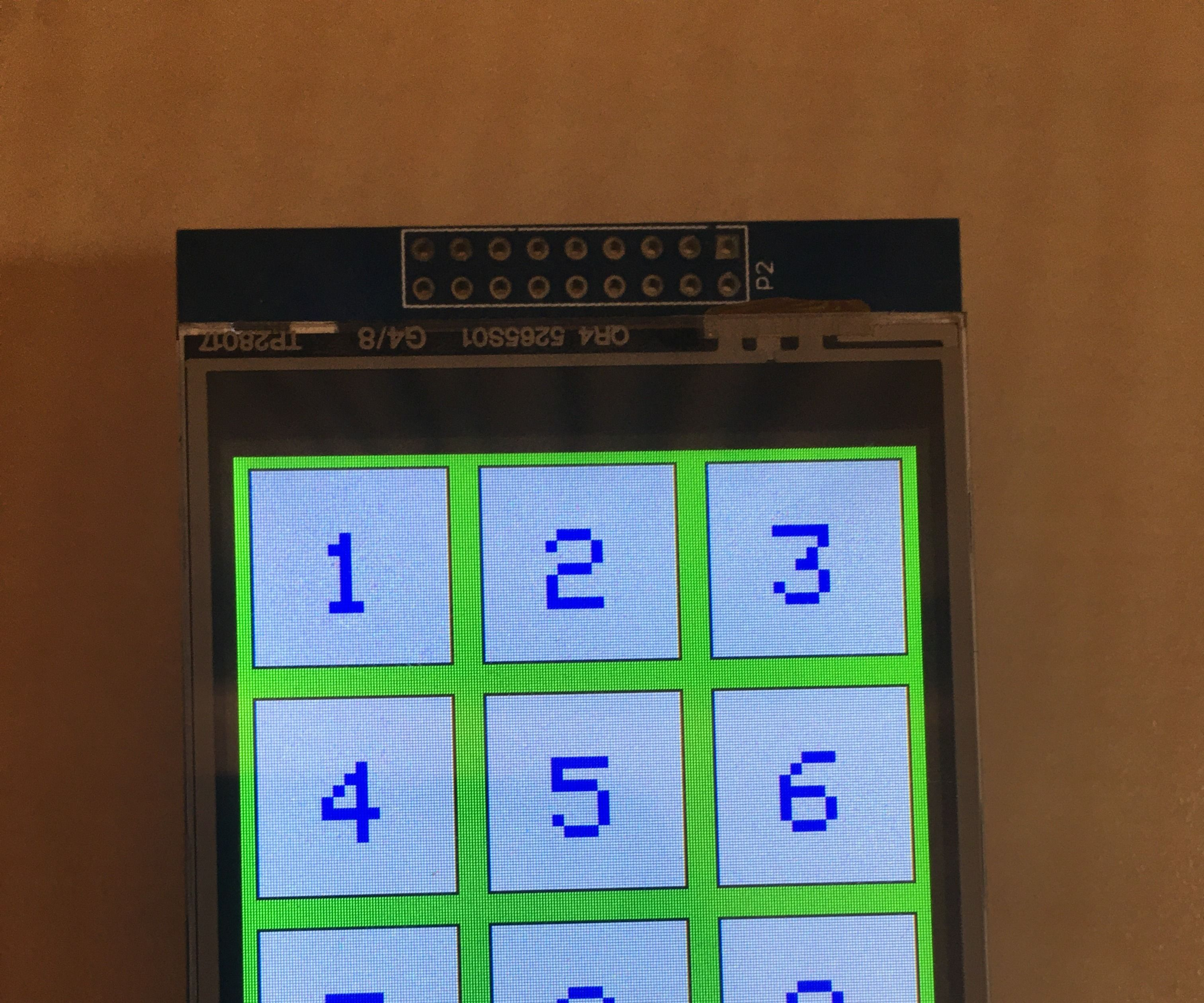 "Arduino 2.8"" Touch Screen Board Module"