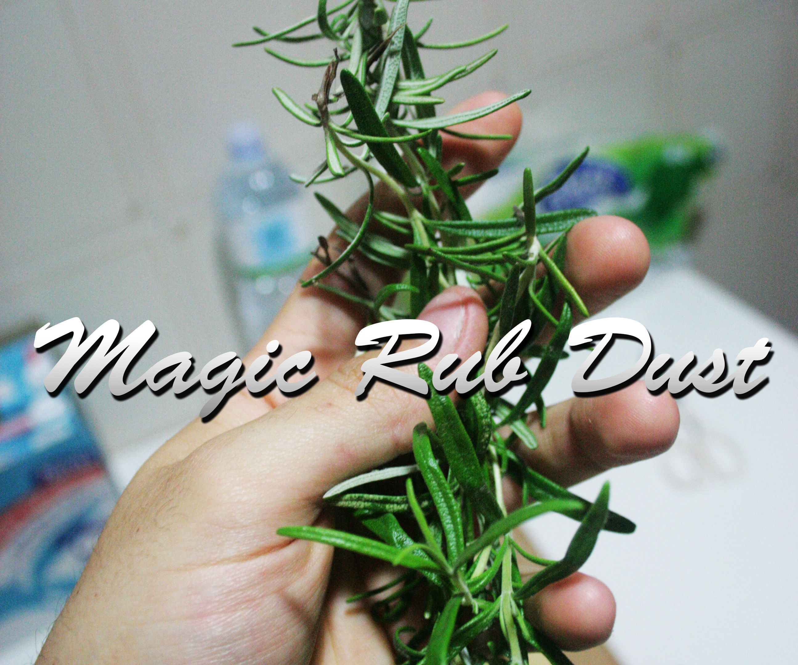 BBQ Magic Rub Dust – Italian Style