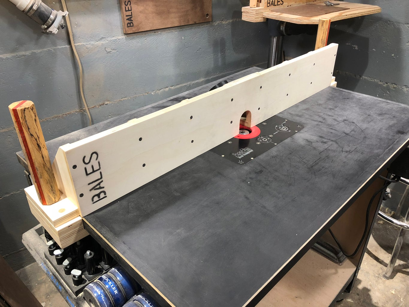 The Router Table Fence