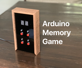 Arduino Memory Game