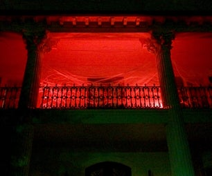 Simple Spooky Blood Red LED Lights