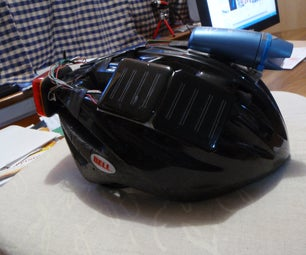 Trickle Charging Auto-switching LED Helmet