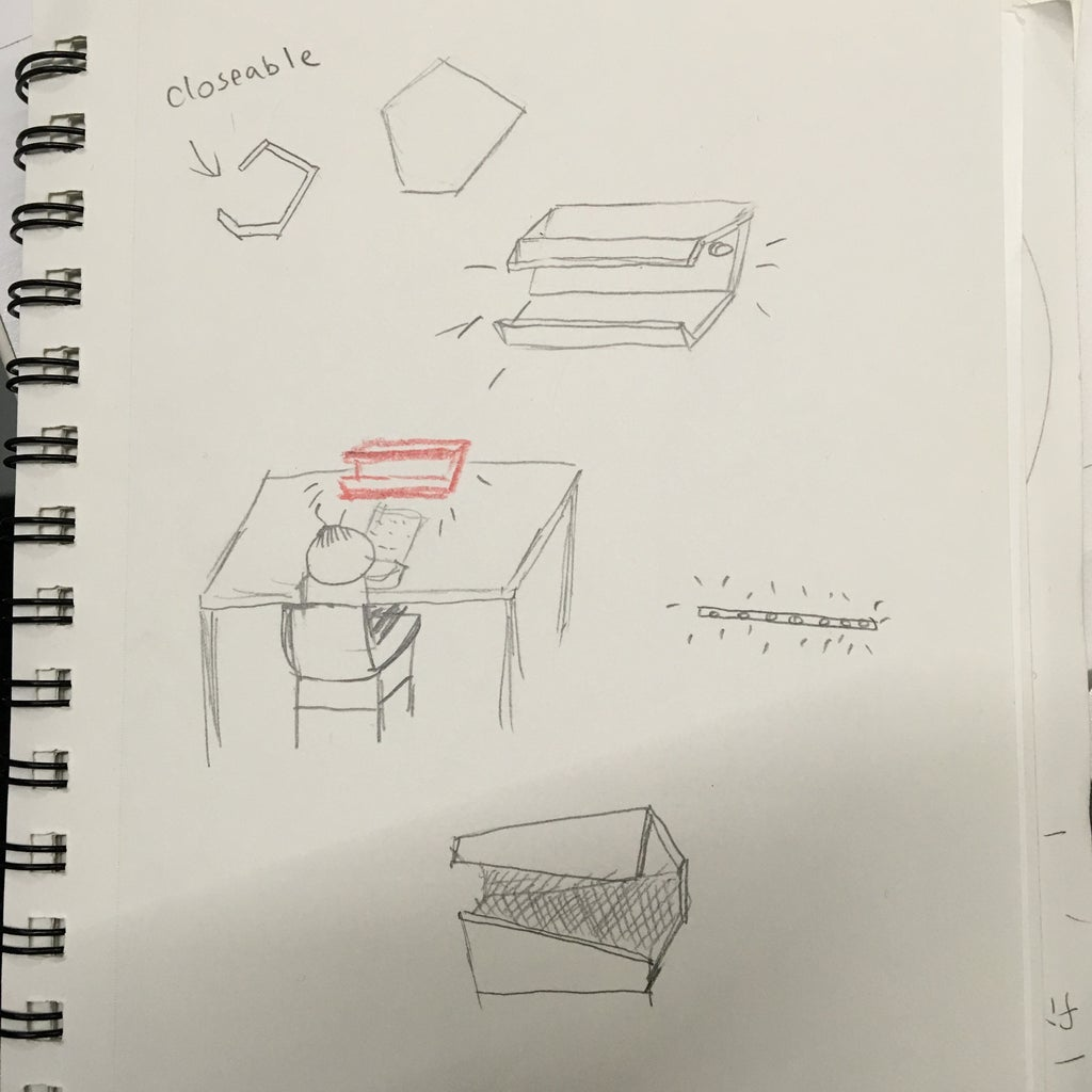 Sketch / Material to Prepare
