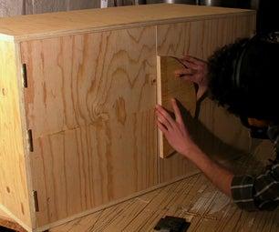 Toolbox Cupboard / Moon Cupboard