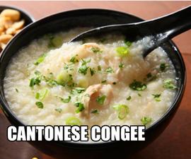 Homemade Traditional Cantonese Congee ( Asian Delight)