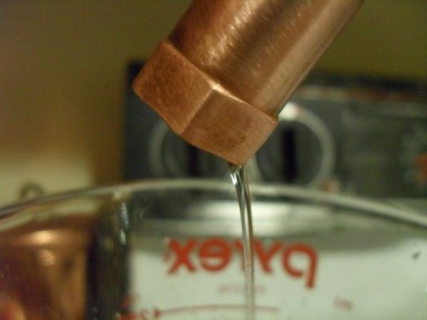 Build a Lab Quality (ish) Distillation Apparatus.