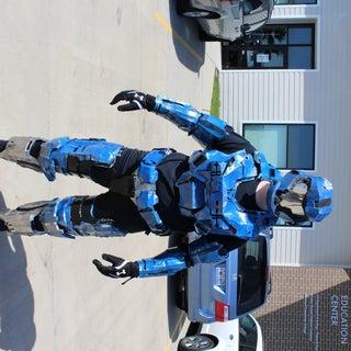 Mjolnir Mk. V (Pepakura Halo Armour)