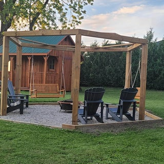 Porch-Swing Fire Pit