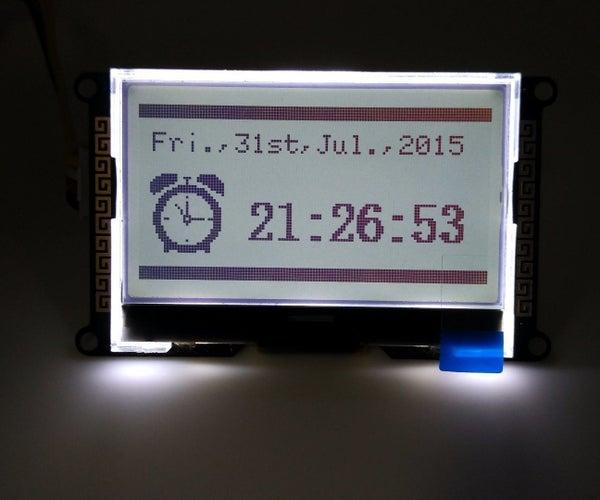 Beautiful and Practical Clock With Calendar