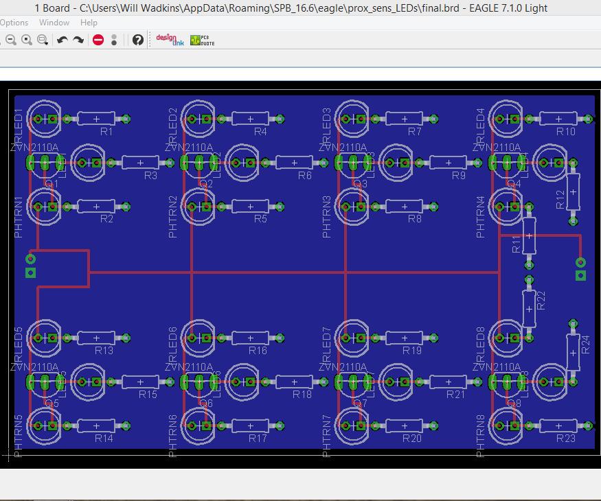 PCB Design in EAGLE