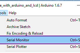 Ways to Open Serial Monitor