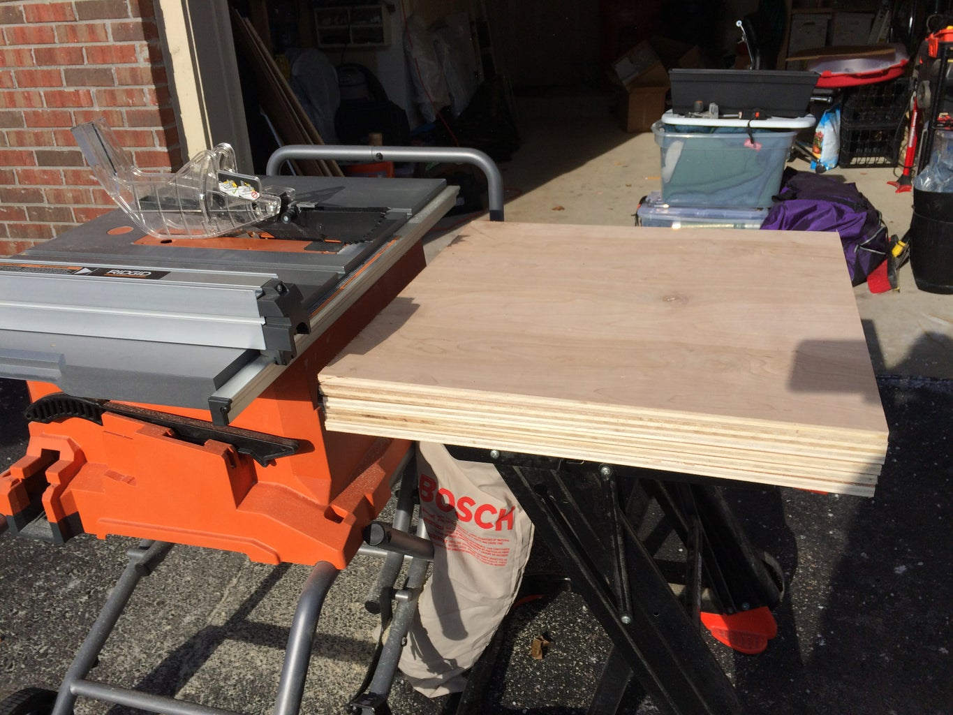 Cut Plywood Down to Size