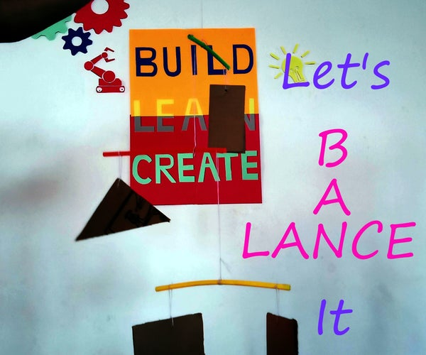 Lever N Fulcrum: Hanging Mobile STEM Challenge