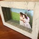 3D Concrete Picture Frame
